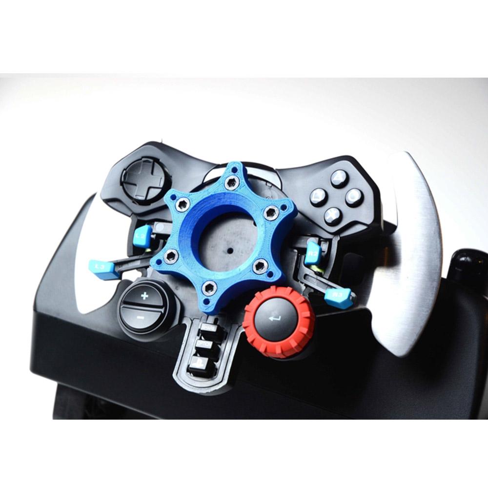 Logitech G29 G920 quick release wheel adapter for Logitech sgancio rapido